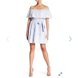 NWT CeCe by Cynthia Steffe Off Shoulder Dress